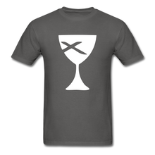 Load image into Gallery viewer, Communion Cup tee Dark - charcoal