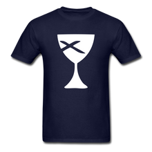 Load image into Gallery viewer, Communion Cup tee Dark - navy