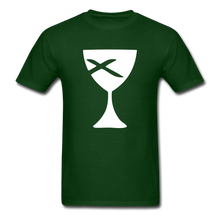 Load image into Gallery viewer, Communion Cup tee Dark - forest green
