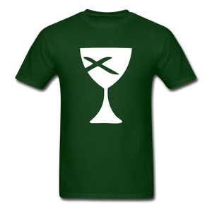 Communion Cup tee Dark - forest green