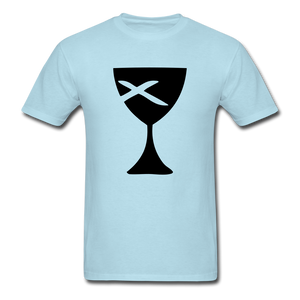 Communion Cup Bright Tee - powder blue