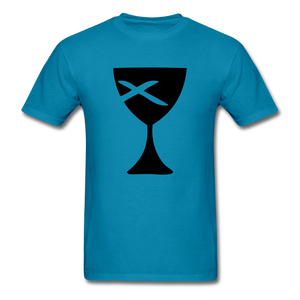Communion Cup Bright Tee - turquoise
