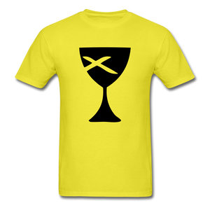 Communion Cup Bright Tee - yellow