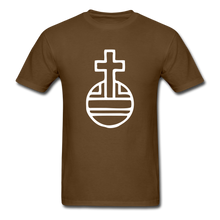 Load image into Gallery viewer, Sovereignty Cross Tee Dark - brown