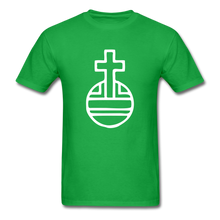 Load image into Gallery viewer, Sovereignty Cross Tee Dark - bright green