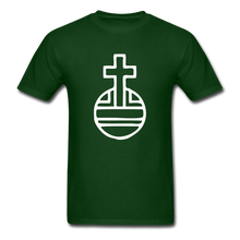 Load image into Gallery viewer, Sovereignty Cross Tee Dark - forest green