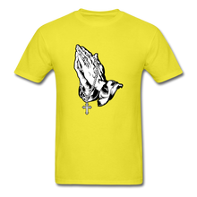 Load image into Gallery viewer, Praying Hands Tee Bright - yellow