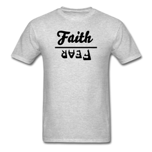Load image into Gallery viewer, Faith over Fear Mineral Tee - heather gray