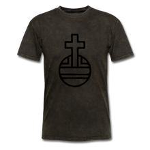Load image into Gallery viewer, Sovereign Cross Mineral Tee - mineral black