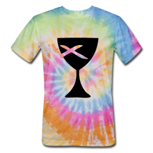Load image into Gallery viewer, Communion Cup Tie Dye Tee - rainbow