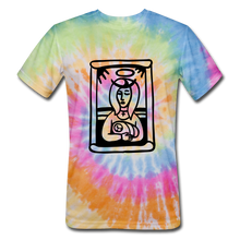 Load image into Gallery viewer, Mother Mary Tie Dye Tee - rainbow