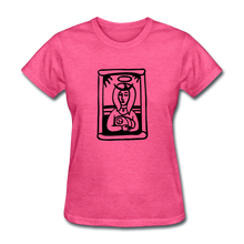 Load image into Gallery viewer, Mother Mary Women's Tee Bright Heather - heather pink