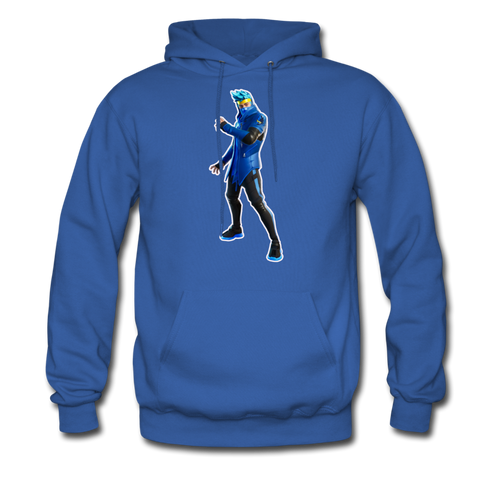 Ninja Fortnite Video Game Hoodie - royal blue