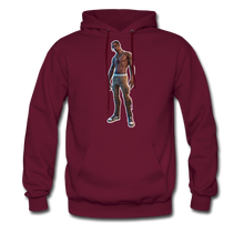 Load image into Gallery viewer, Travis Scott Hoodie Fortnite Video Game T-Shirt - burgundy