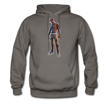 Load image into Gallery viewer, Travis Scott Hoodie Fortnite Video Game T-Shirt - asphalt gray