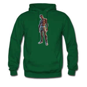 Travis Scott Hoodie Fortnite Video Game T-Shirt - forest green
