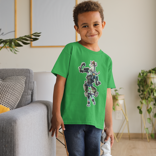 Kit  Kid's  Fortnite Video Game T-Shirt