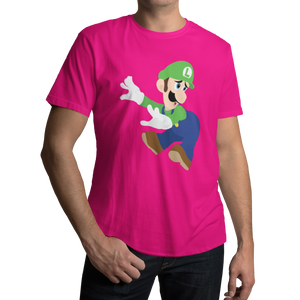 Luigi Mario Video Game T-Shirt