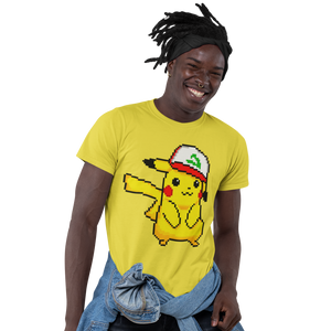 Pikachu Hat Pokemon Video Game T-Shirt