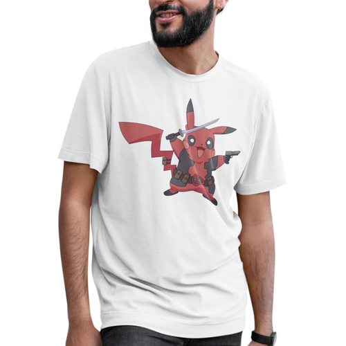 Pikachu Deadpool Pokemon Video Game T-Shirt