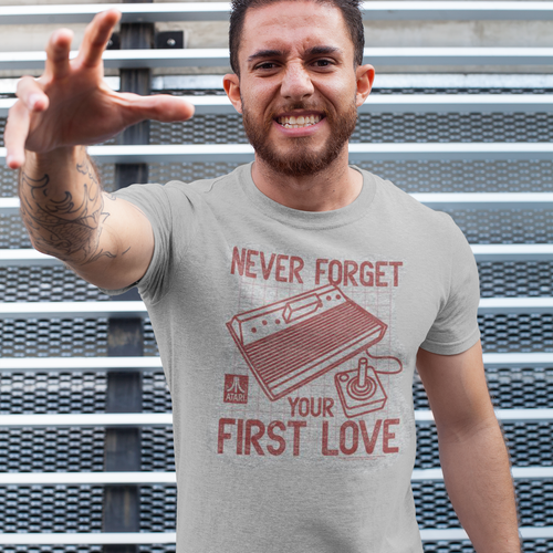 Atari First Love Video Game T-Shirt