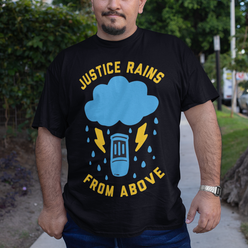 Justice Rains Overwatch Video Game T-Shirt