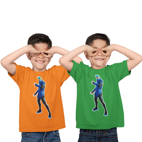 Ninja  Kid's  Fortnite Video Game T-Shirt