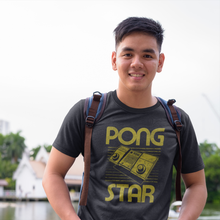 Load image into Gallery viewer, Atari Pong Star Video Game T-Shirt