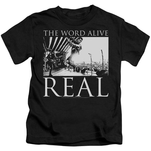 The Word Alive Live Shot Kids Band T-Shirt