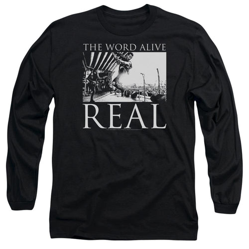 The Word Alive Live Shot Long Sleeve Band T-Shirt