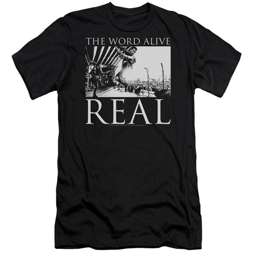 The Word Alive Live Shot Slim Fit Band T-Shirt