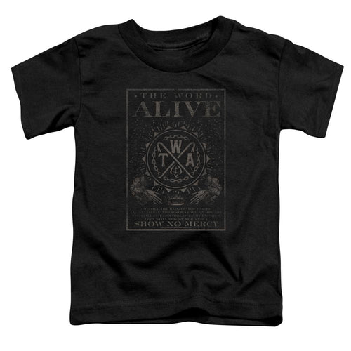The Word Alive Show No Mercy Toddler Band T-Shirt