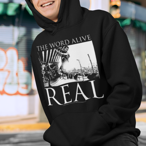 The Word Alive Live Shot Pullover Hoodie Band Sweatshirt