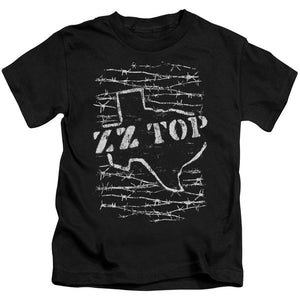 Zz Top Barbed Kids Band T-Shirt