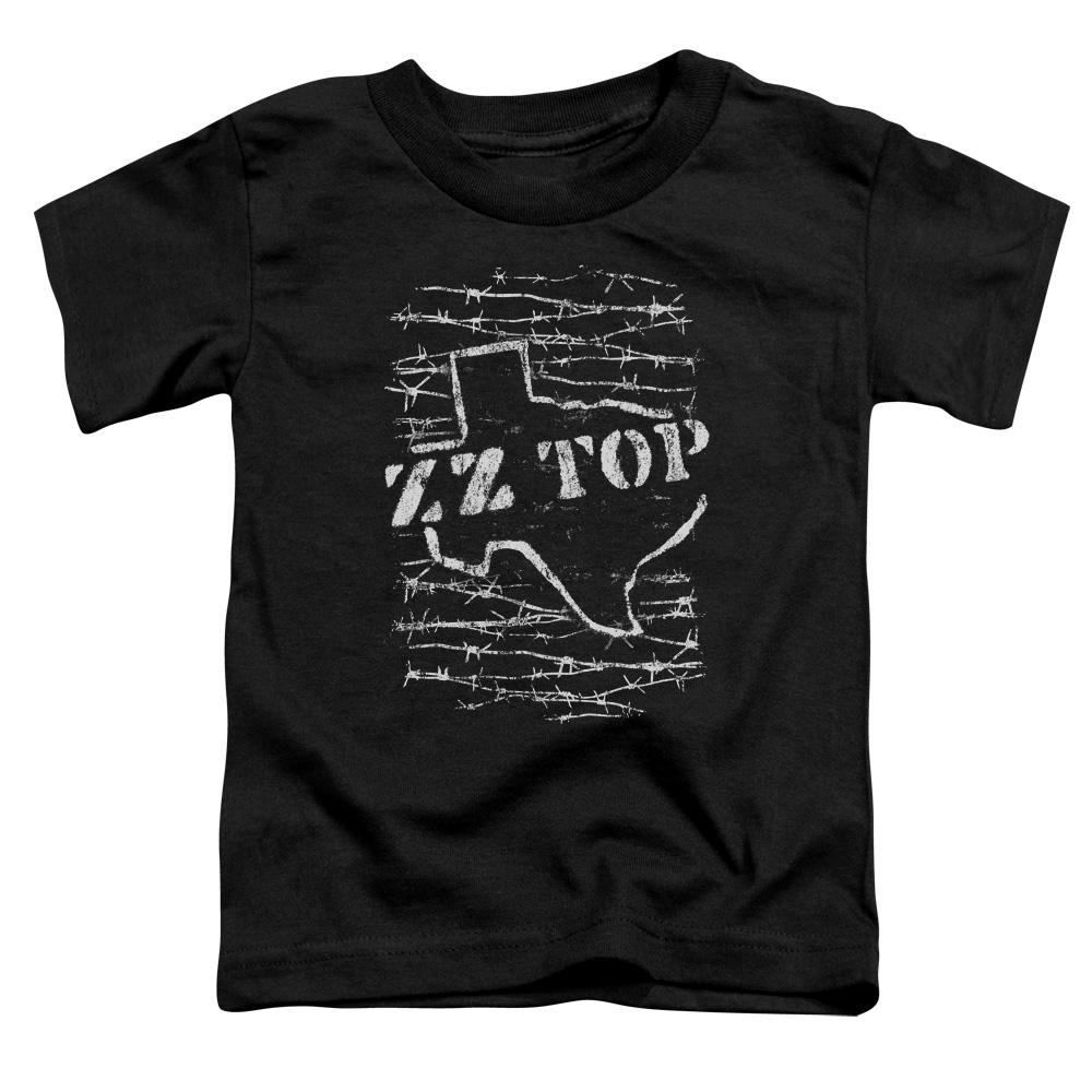 Zz Top Barbed Toddler Band T-Shirt