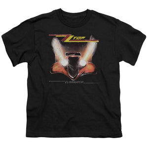 Zz Top Eliminator Cover Teen Band T-Shirt