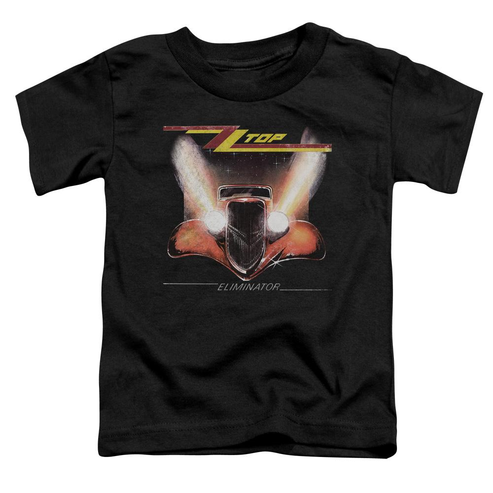 Zz Top Eliminator Cover Toddler Band T-Shirt