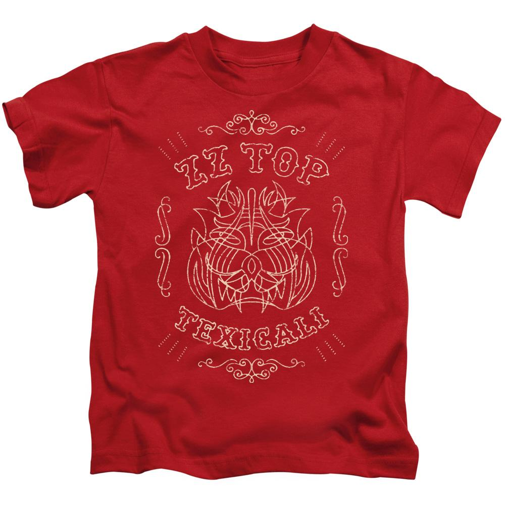 Zz Top Texicali Demon Kids Band T-Shirt