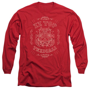 Zz Top Texicali Demon Long Sleeve Band T-Shirt