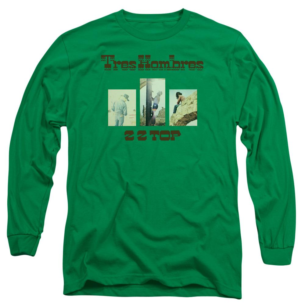 Zz Top Tres Hombres Long Sleeve Band T-Shirt