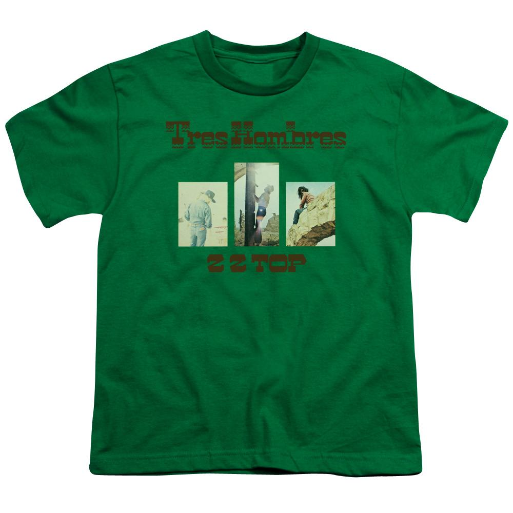 Zz Top Tres Hombres Teen Band T-Shirt