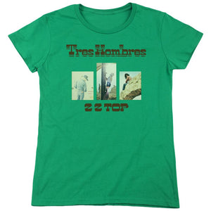 Zz Top Tres Hombres Women's Band T-Shirt