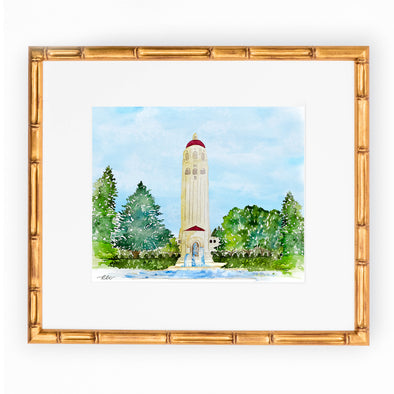 Stanford University Art Print, Hoover Tower