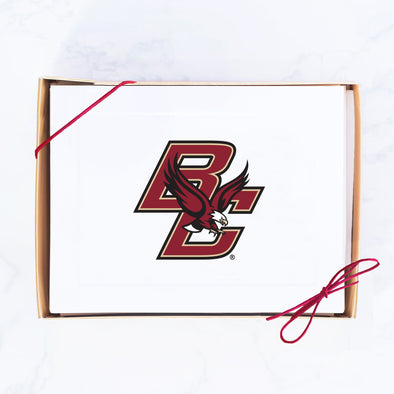 Boston College Note Card Set, Classic Logo
