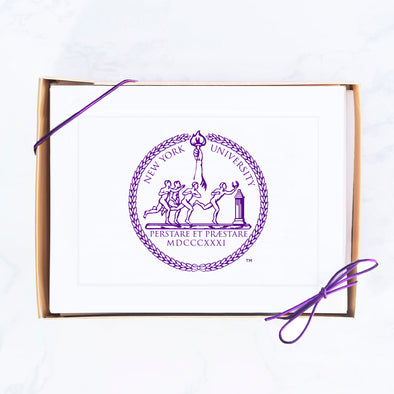 NYU Note Card Set, School Seal