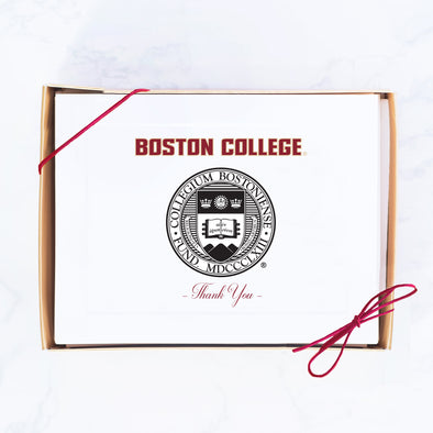 Boston College Note Card Set, School Seal