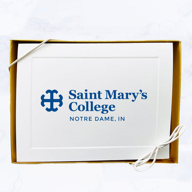 Saint Mary's College Classic Logo Note Card Set