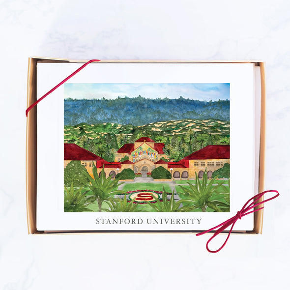 Stanford University Note Card Set, Memorial Chapel