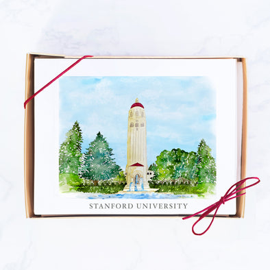 Stanford University Note Card Set, Hoover Tower