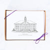 James Madison University Hand-drawn Sketch Note Card Set, Wilson Hall